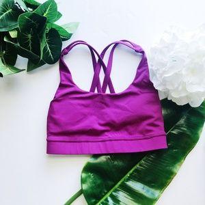Lululemon Sports bra Cross back size 2
